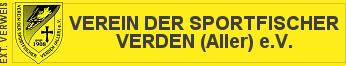 Logo Verein der Sportfischer Verden (Aller) e.V.
